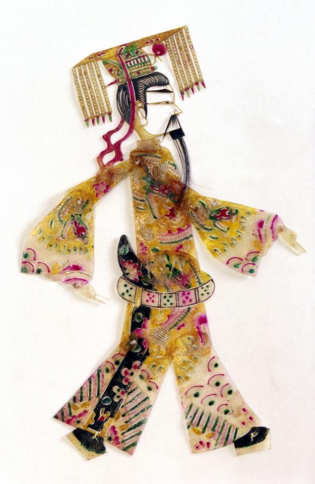 Figura 1, ombra della Collezione Signorelli, raffigurante l'imperatore, seconda metà del XX sec., © Primangeli