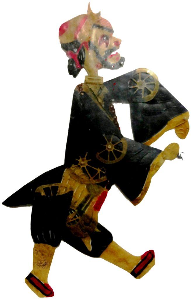 Figura 2, ombra della Collezione Signorelli, raffigurante Sha Wujing, Monaco Sabbioso, seconda metà del XX sec.© Primangeli
