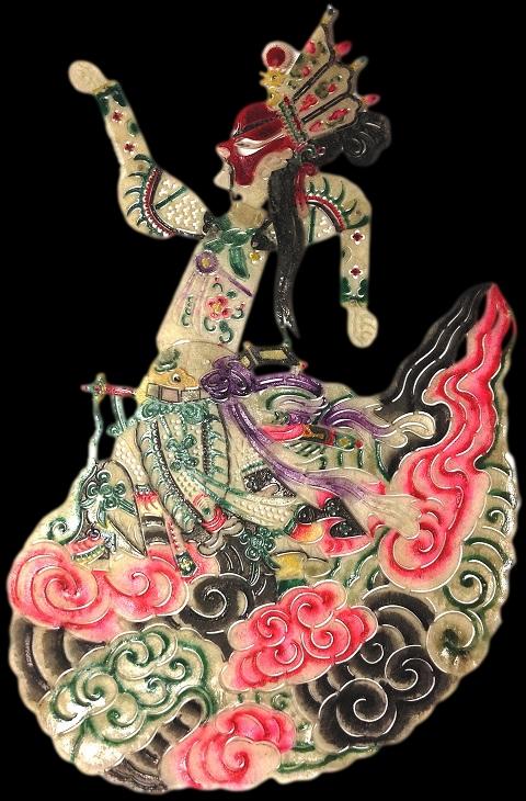 Figura 5, ombra della Collezione Signorelli, raffigurante Yang Jian, generale celeste, seconda metà del XX sec.© Primangeli
