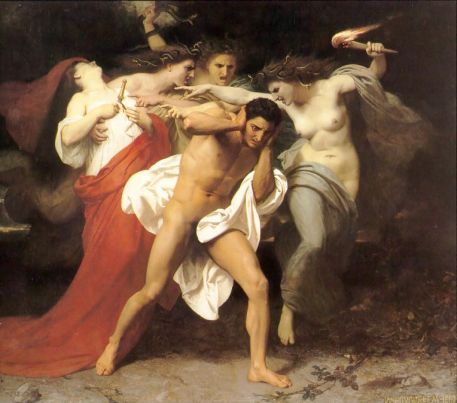 William-Adolphe_Bouguereau-The_Remorse_of_Orestes_1862