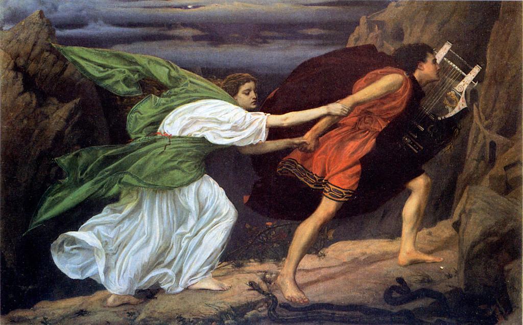 Orfeo ed Euridice. Sir Edward John Poynter (1836-1919)